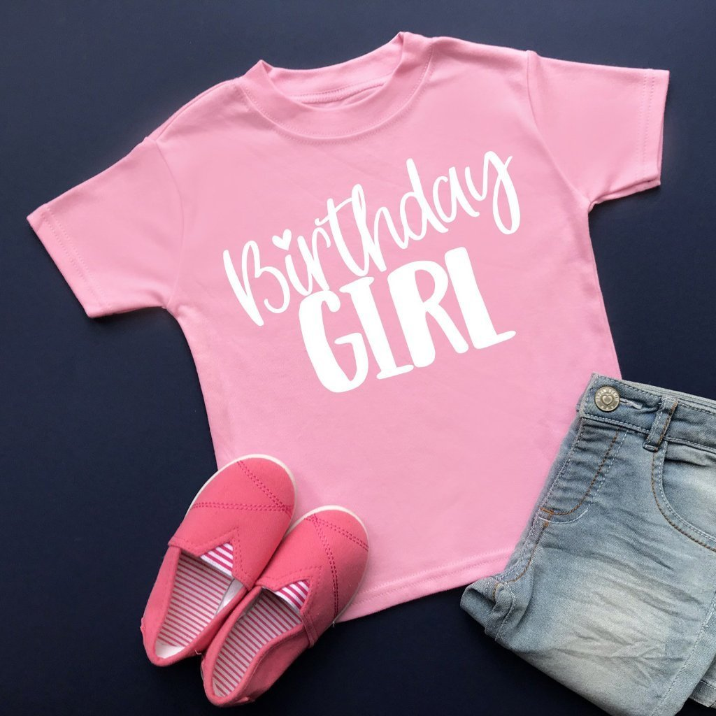 Birthday Girl T-Shirt - Cotton and Bloom