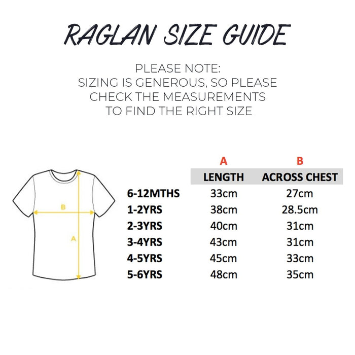 Comic Big Sister Raglan Shirt - Cotton and Bloom
