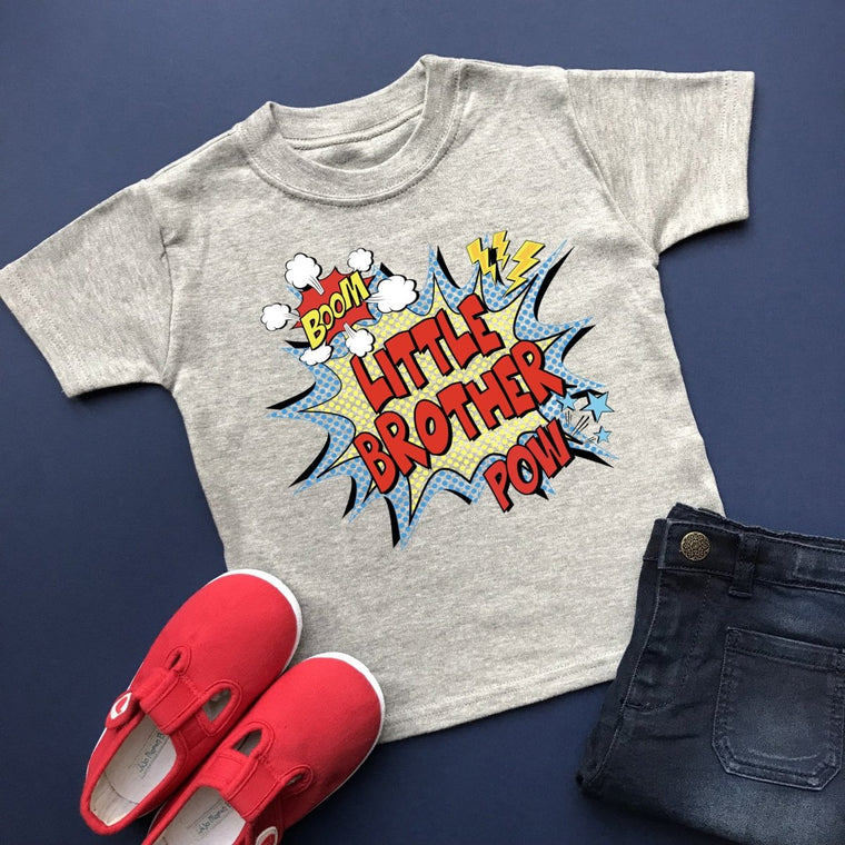 Comic Little Brother Shirt