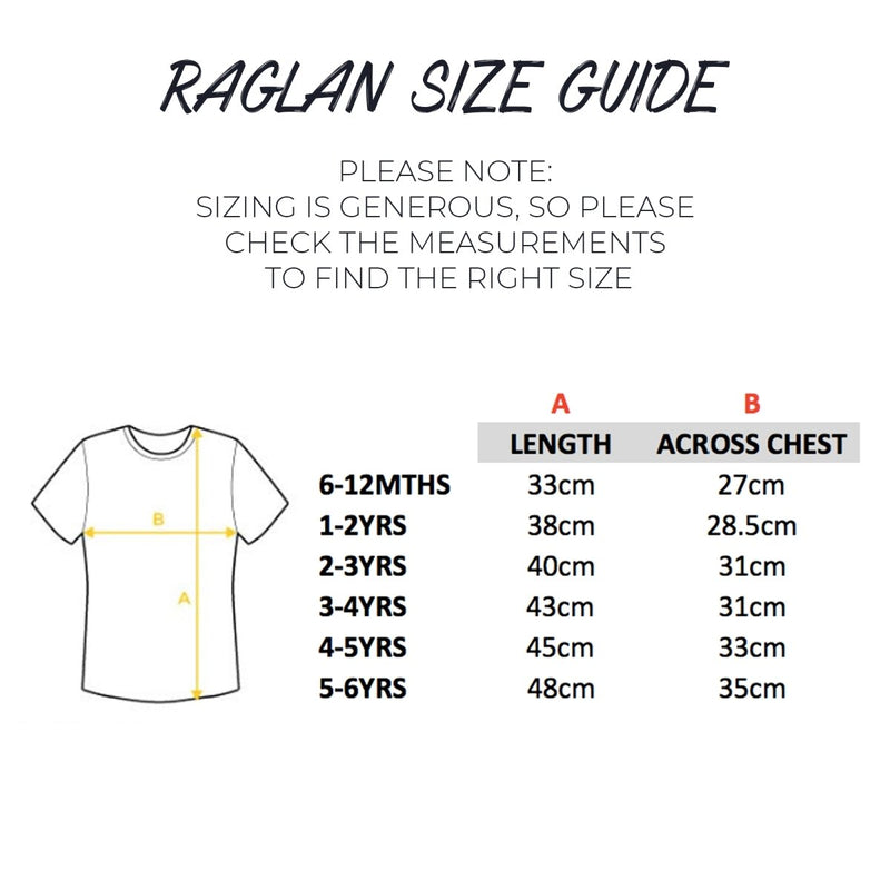 Comic Style 3rd Birthday Raglan Shirt