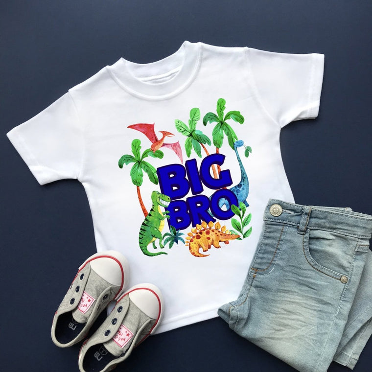 Dinosaur Big Brother (Big Bro) Shirt