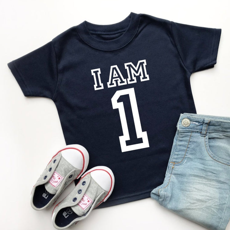 I am 1 T-Shirt, Varsity Design