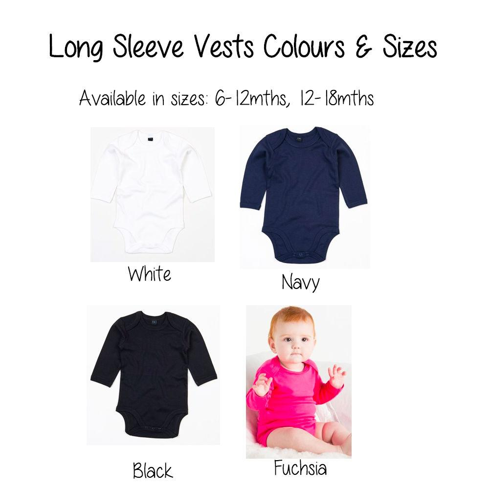 LONG Sleeve Vests / Bodysuits - DESTASH - Cotton and Bloom