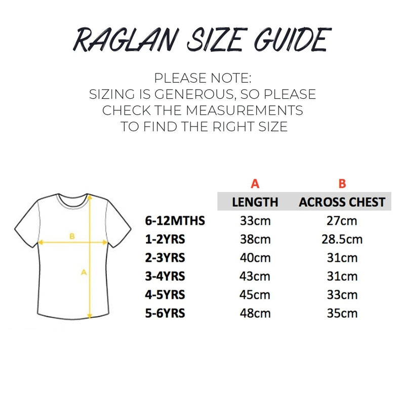 READY TO SHIP: Four Baseball Raglan - Cotton and Bloom