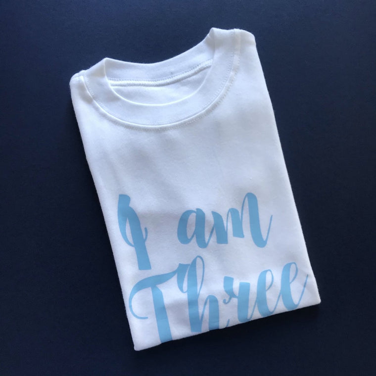READY TO SHIP - Script I am Three