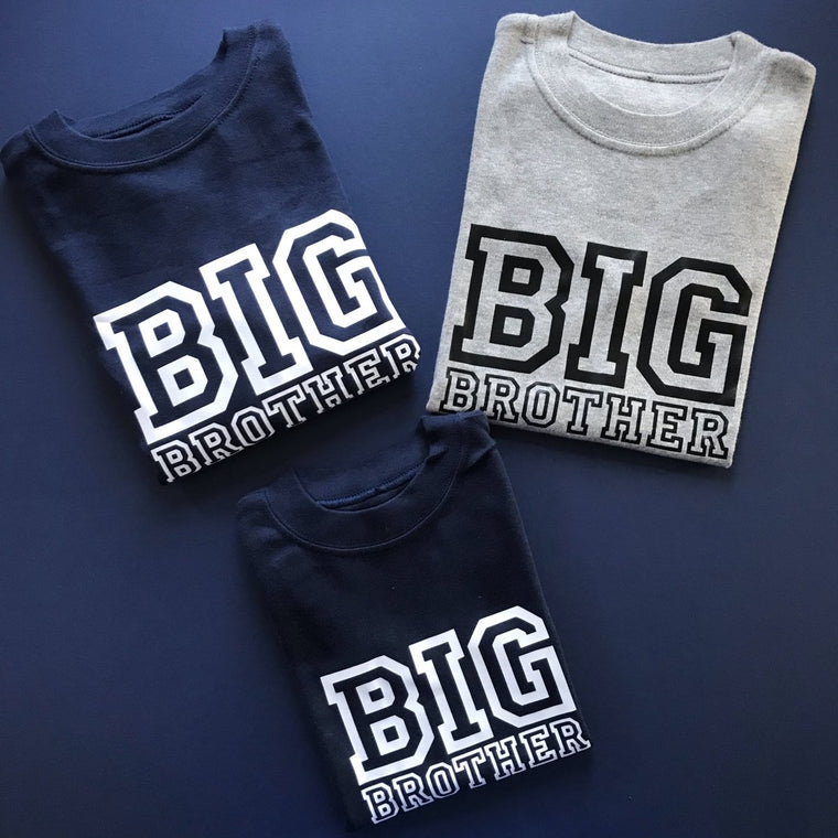 READY TO SHIP - Varsity Big Brother
