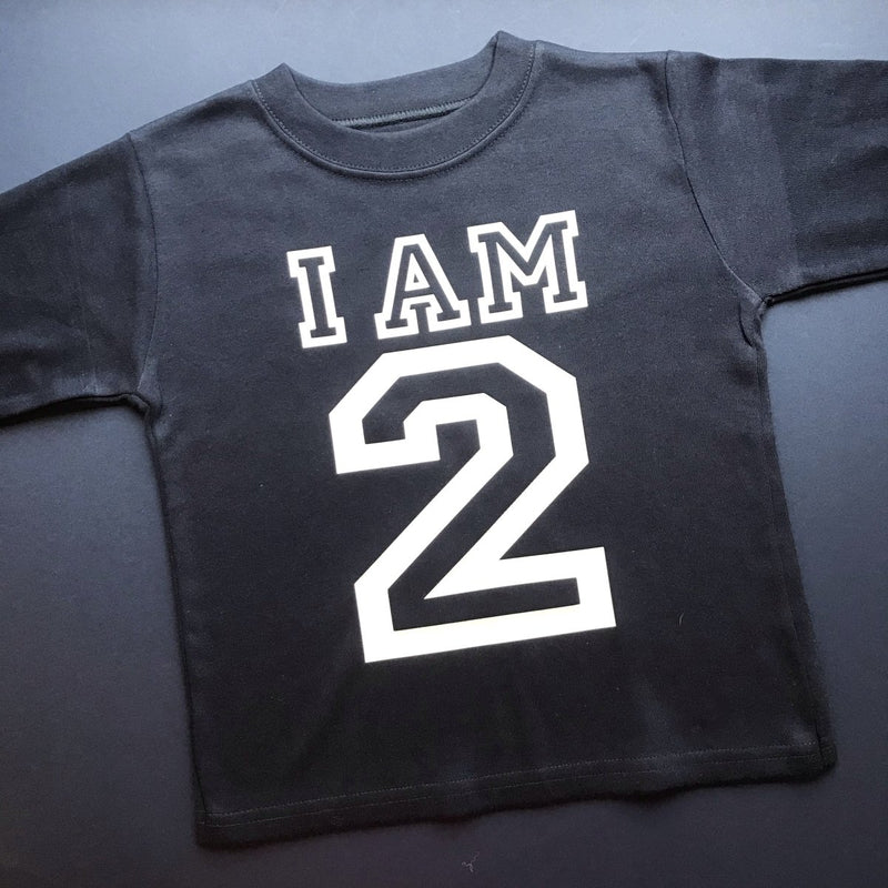 READY TO SHIP - Varsity I am 2 - Cotton and Bloom