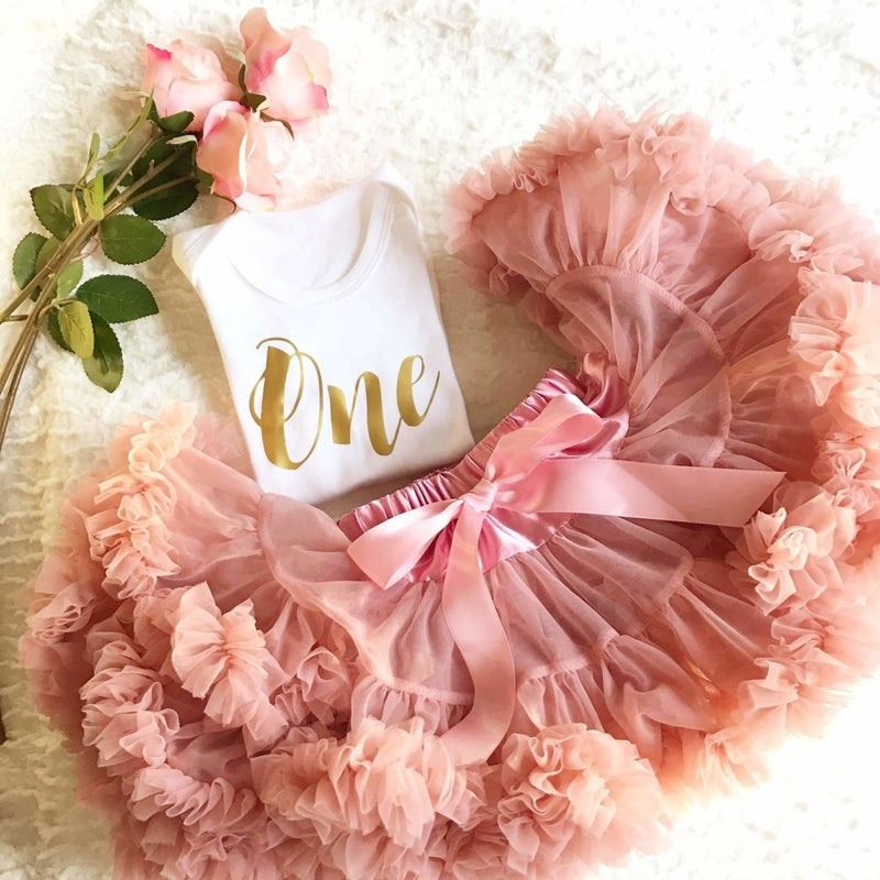 Rose Pink Tutu - Cotton and Bloom