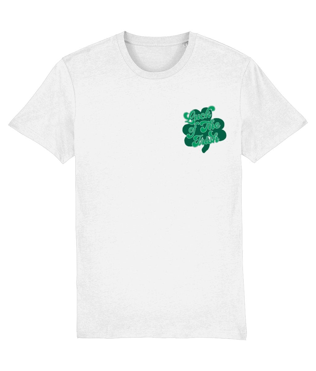 Shamrock Luck of the Irish T-Shirt - Cotton and Bloom