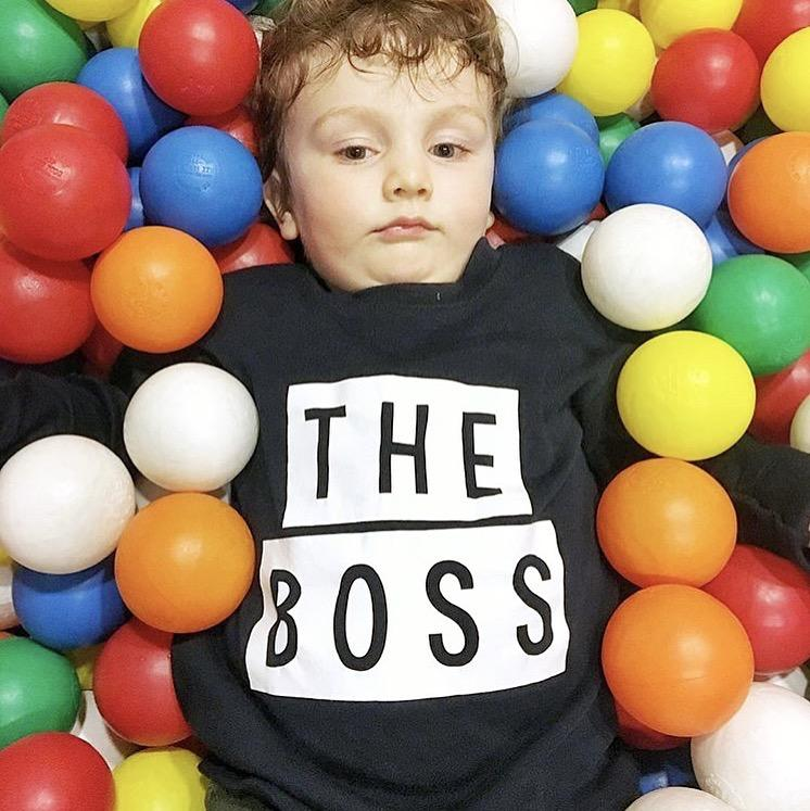 The Boss Toddler TShirt