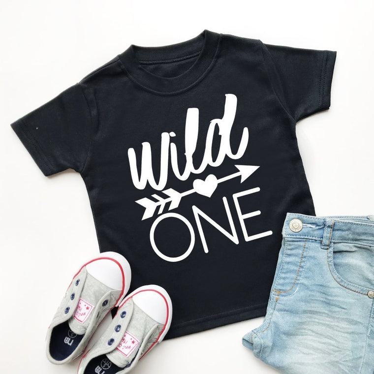 Wild One Birthday, 1st Birthday TShirt