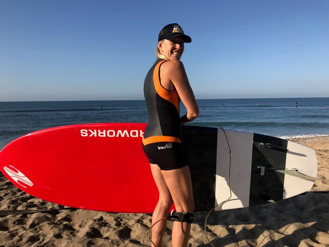 Kristin Thomas in her Truli Wetsuits