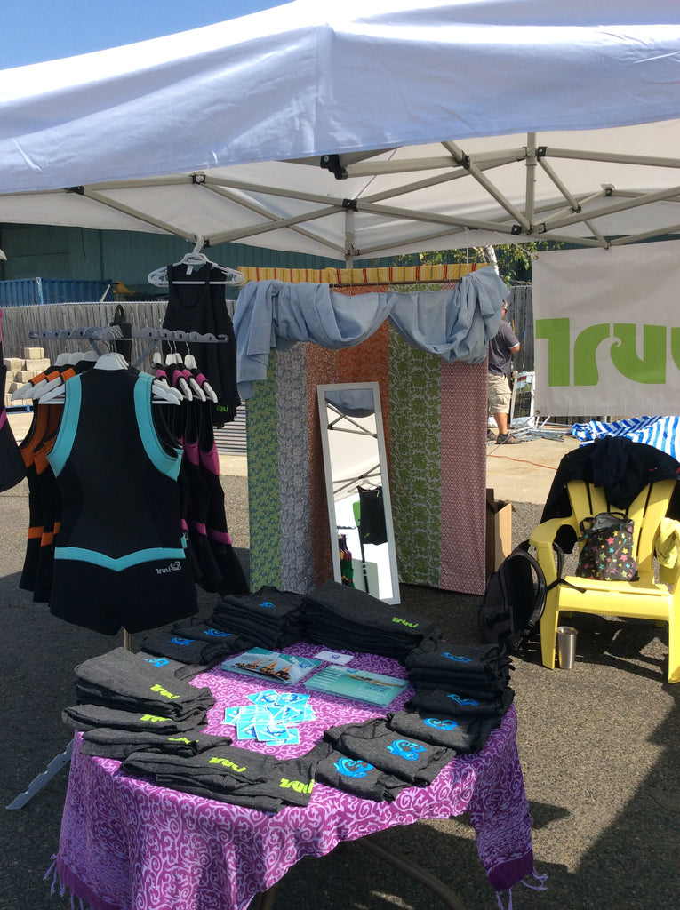 Truli Wetsuits at the Port Credit Boat Show 2017