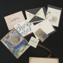 Noted Paperie POP Up Sale assortment of Cards
