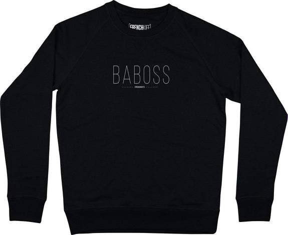 Sweatshirt Baboss Noir by [FRENCHKIFF]