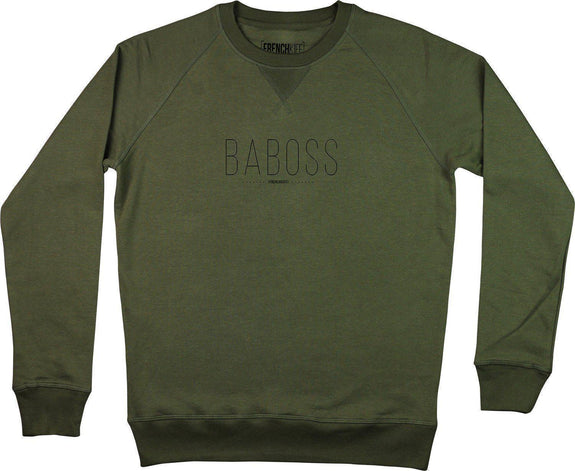 Sweatshirt Baboss Kaki by [FRENCHKIFF]