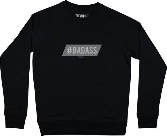 Sweatshirt Badass Noir by [FRENCHKIFF]