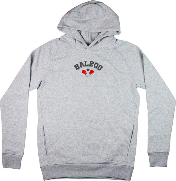 Sweat à capuche BALROG Gris sport by [FRENCHKIFF]