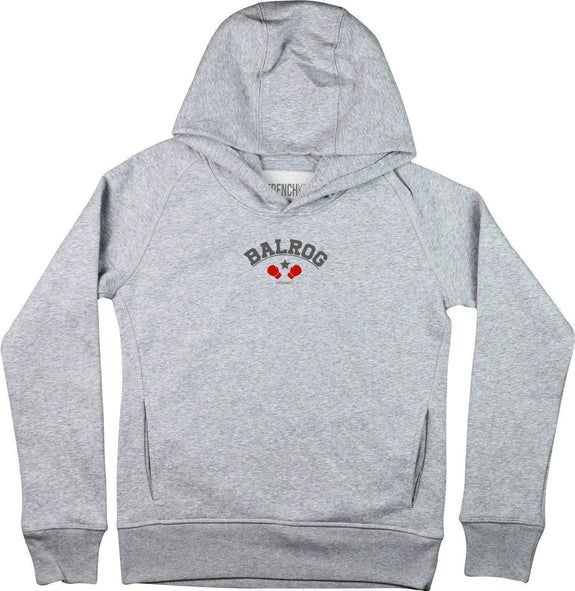 Sweat à capuche Femme BALROG Gris sport by [FRENCHKIFF]