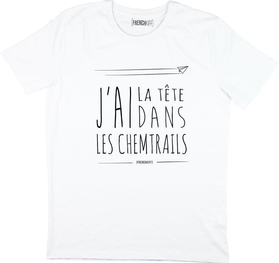 T-shirt Chemtrails Blanc by [FRENCHKIFF]