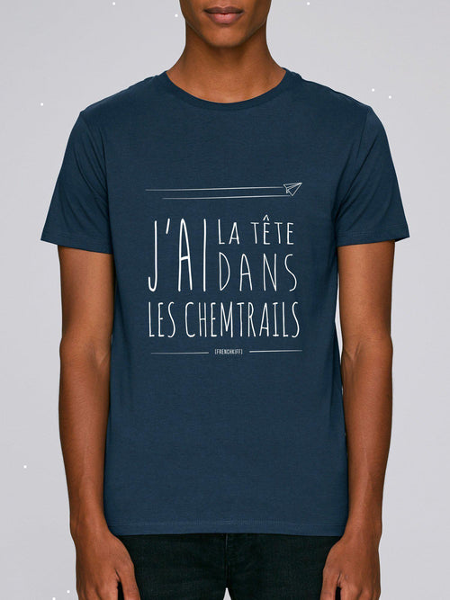 T-shirt Chemtrails Kaki by [FRENCHKIFF]