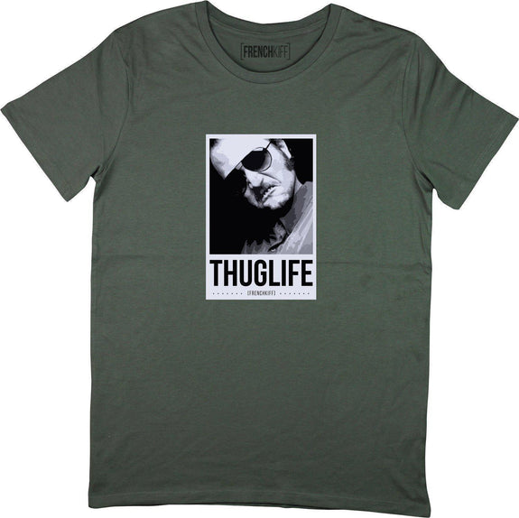 T-shirt Dikkenek Claudy Thuglife Kaki by [FRENCHKIFF]