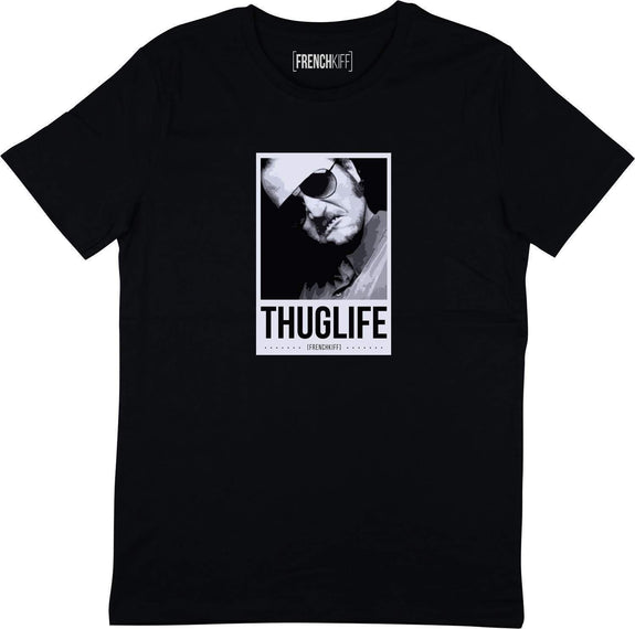 T-shirt Dikkenek Claudy Thuglife Noir by [FRENCHKIFF]