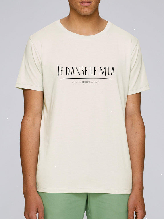 T-shirt Je danse le mia Jaune moutarde by [FRENCHKIFF]