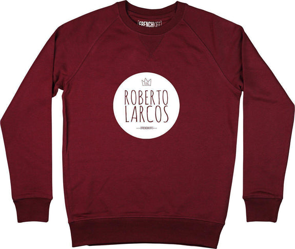 Sweatshirt King Roberto Larcos Bordeaux by [FRENCHKIFF]