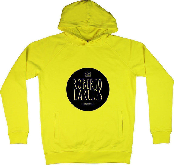 Sweat à capuche King Roberto Larcos Jaune by [FRENCHKIFF]