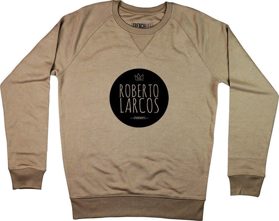 Sweatshirt King Roberto Larcos Camel by [FRENCHKIFF]