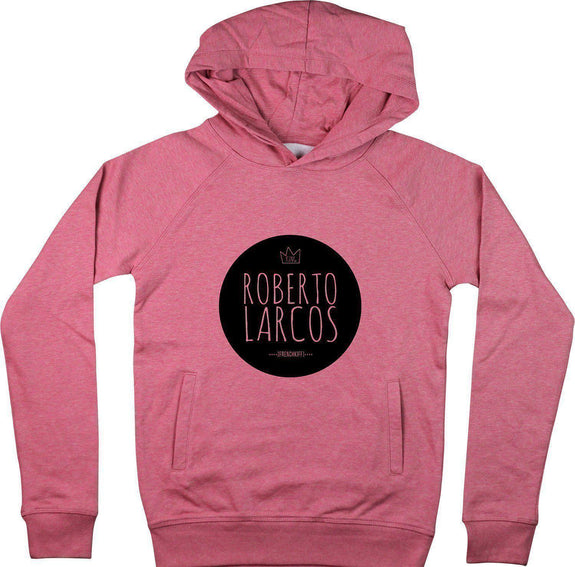 Sweat à capuche King Roberto Larcos Rose by [FRENCHKIFF]