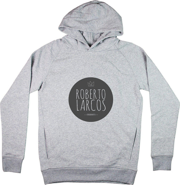 Sweat à capuche King Roberto Larcos Gris sport by [FRENCHKIFF]