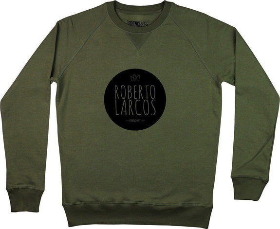 Sweatshirt King Roberto Larcos Kaki by [FRENCHKIFF]