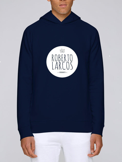 Sweat à capuche King Roberto Larcos Blanc crème by [FRENCHKIFF]