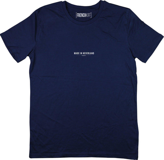 T-shirt Made In Neverland Bleu marine by [FRENCHKIFF]