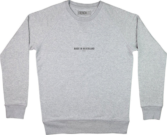 Sweatshirt Made In Neverland Gris sport by [FRENCHKIFF]