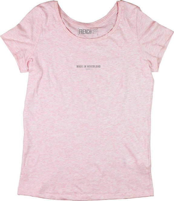 T-shirt Femme Made In Neverland Rose by [FRENCHKIFF]