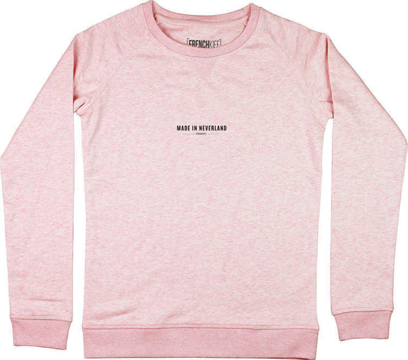 Sweatshirt Femme Made In Neverland Rose by [FRENCHKIFF]