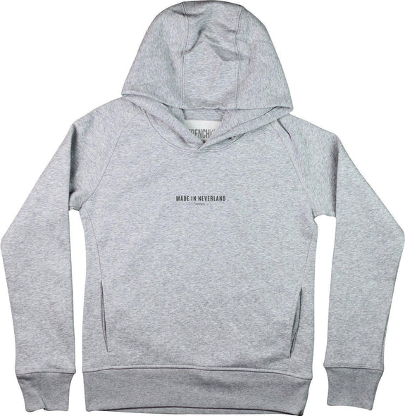 Sweat à capuche Femme Made In Neverland Gris sport by [FRENCHKIFF]