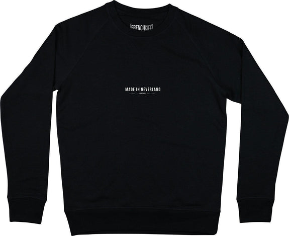 Sweatshirt Made In Neverland Noir by [FRENCHKIFF]