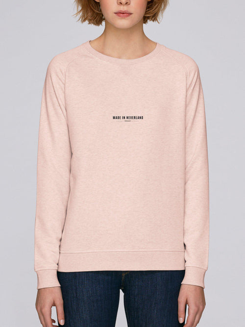 Sweatshirt Femme Made In Neverland Beige chiné by [FRENCHKIFF]