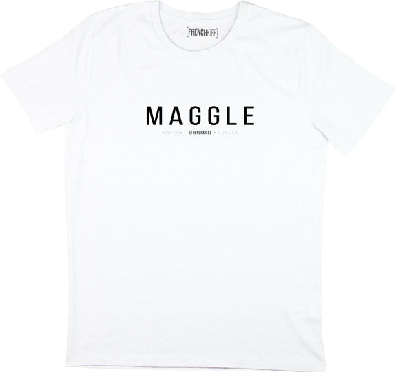 T-shirt Maggle Blanc by [FRENCHKIFF]