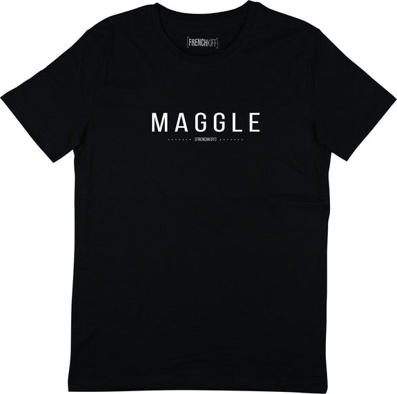T-shirt Maggle Noir by [FRENCHKIFF]
