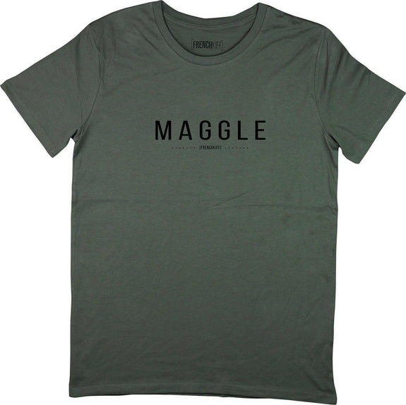 T-shirt Maggle Kaki by [FRENCHKIFF]