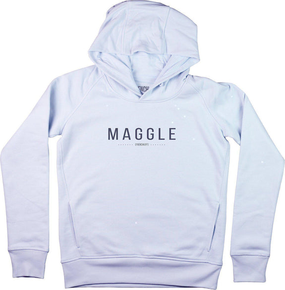 Sweat à capuche Femme Maggle Bleu pastel by [FRENCHKIFF]