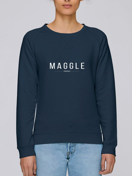 Sweatshirt Femme Maggle Beige chiné by [FRENCHKIFF]