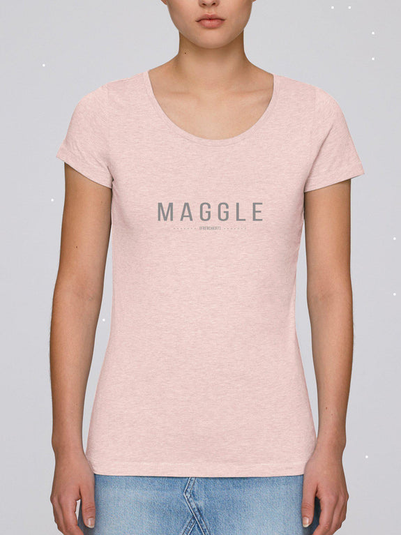 T-shirt Femme Maggle Blanc by [FRENCHKIFF]