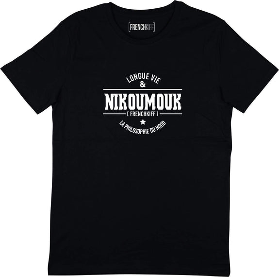 T-shirt Nikoumouk Noir by [FRENCHKIFF]