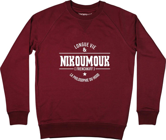 Sweatshirt Nikoumouk Bordeaux by [FRENCHKIFF]